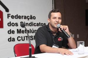 O secretário da Juventude da Federação, Luciano da Silva, o Tremembé