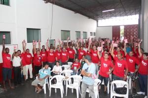 Metalúrgicos de Pinda dão início à eleição do sindicato que marcou a implantação de um novo modelo de sindicalismo