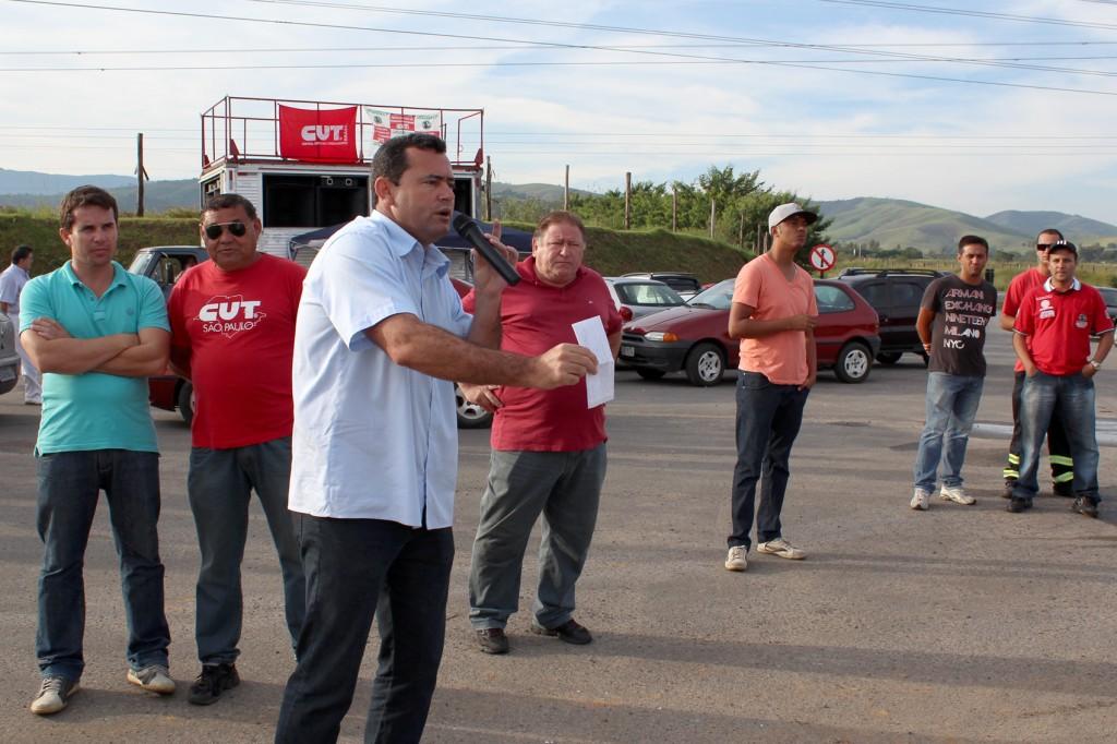Direção do Sindicato dos Metalúrgicos de Pinda-CUT esteve empenhada durante toda a greve