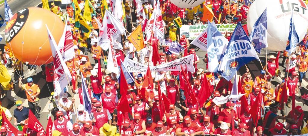 Paralisações, greves e atos públicos serão feitos por todos os sindicatos, por todo o Brasil (crédito: F H Mendes)