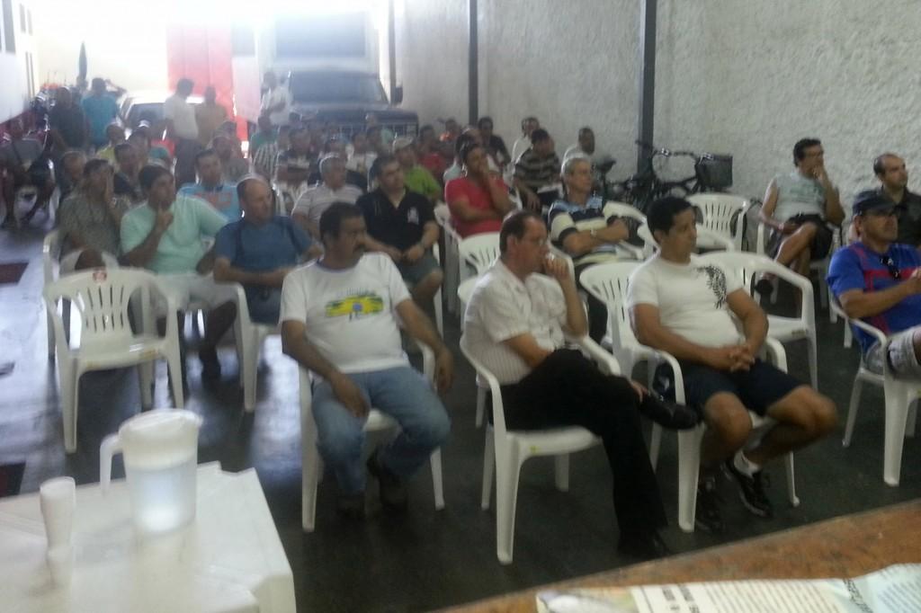 Reunião do Departamento Jurídico do Sindicato na sede da entidade, no dia 10 de agosto (Crédito da foto: Celinho)