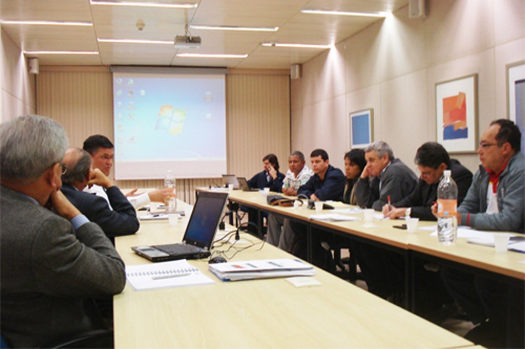 Rodada de Negociação da Campanha Salarial da FEM e Grupo 2 (Foto: Mídia Consulte)
