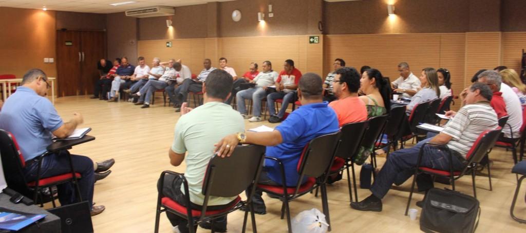 Seminário da direção da Confederação debateu ações da entidade (crédito: CNM/CUT)