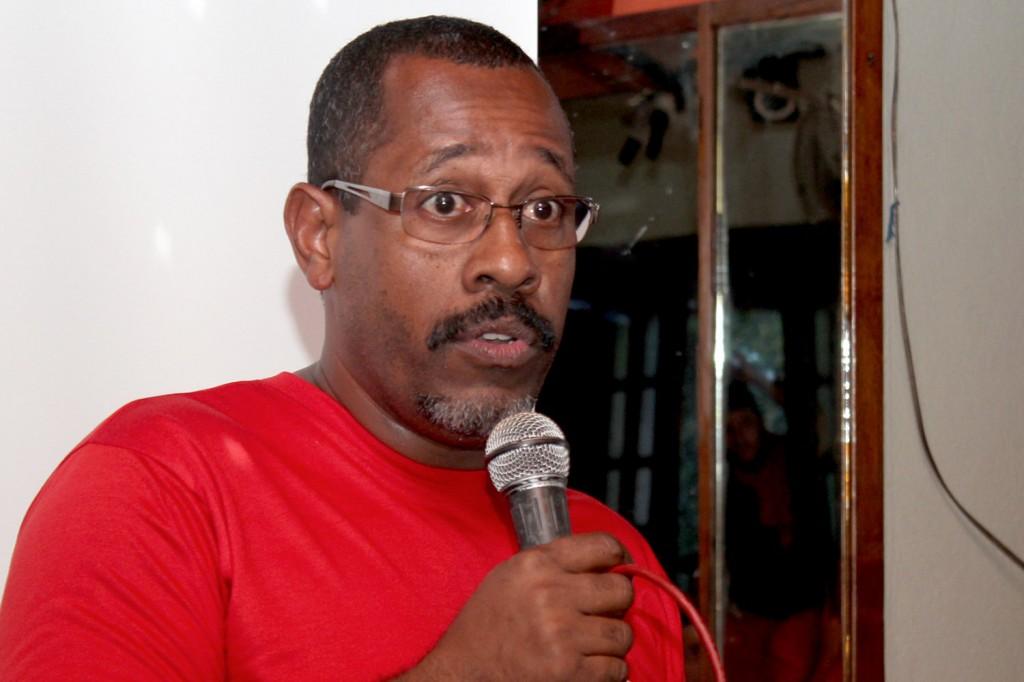 O diretor do Departamento de Promoção da Igualdade Racial do Sindicato, José Carlos dos Santos