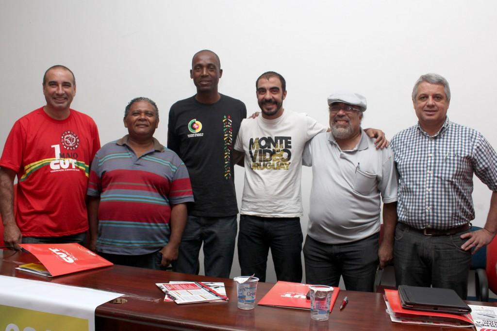 Nilson Coutinho, João Bosco, Benedito Irineu, Alex Capuano, Denis de Oliveira e Walmir Marques - Biro Biro