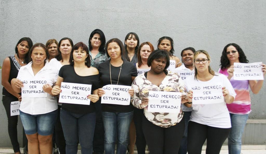 Sindicalistas em apoio à campanha (Crédito: Mídia Consulte)