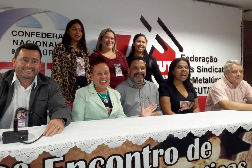 O Sindicato dos Metalúrgicos de Pinda participou do encontro (Foto: Divulgação)