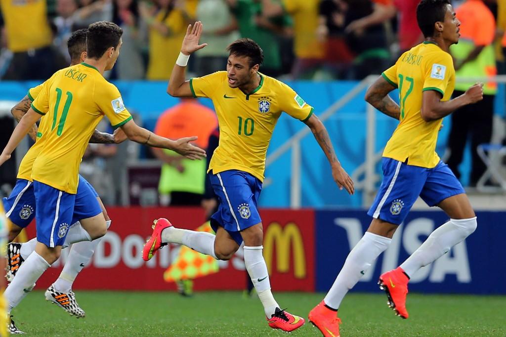 Lance do jogo entre Brasil e Croácia, válido pela abertura da Copa do Mundo 2014, na Arena Corinthians, em São Paulo, SP. FOTO: Jefferson Bernardes