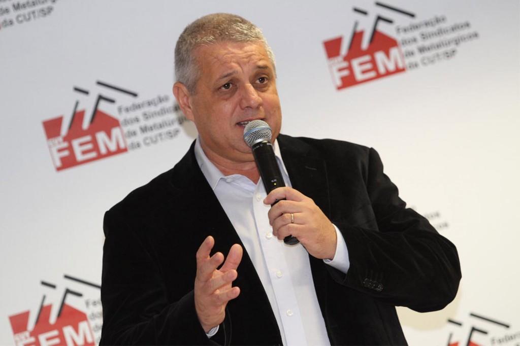 No destaque, Valmir Marques, presidente da FEM (Crédito: Adonis Guerra)