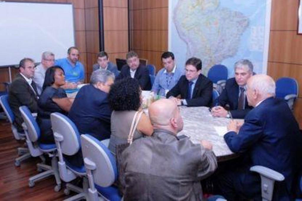 Reunião com ministro do Trabalho aconteceu na quarta, em Brasília (Crédito: Divulgação)