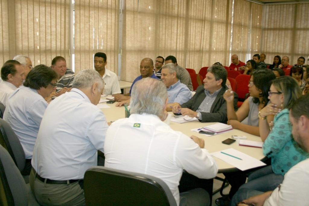 Rodada de negociação FEM-CUT/SP e Grupo 8 - 12 de agosto de 2014- crédito: Mídia Consulte