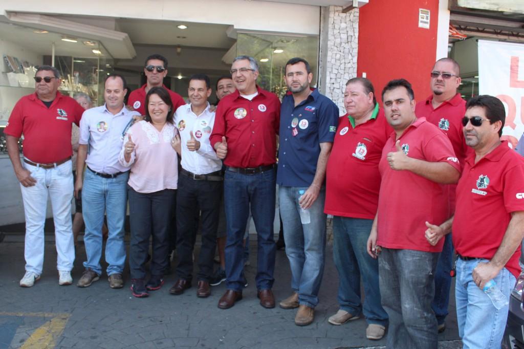 Dirigentes do Sindicato dos Metalúrgicos conversaram com o candidato Alexandre Padilha sobre suas propostas para o Governo do Estado de São Paulo