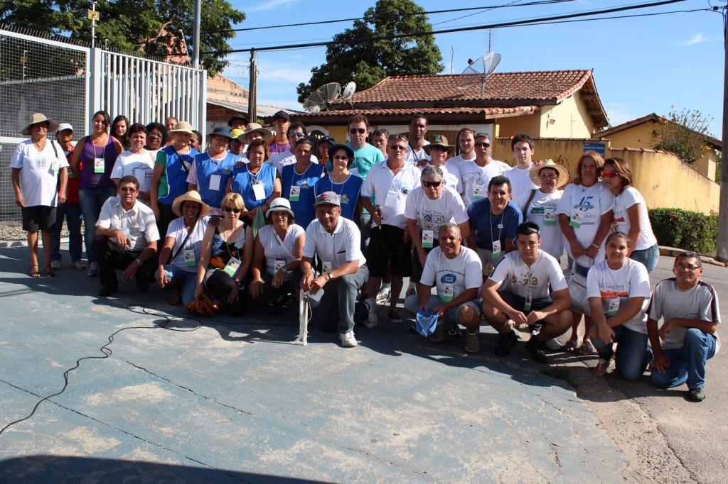 Equipe de voluntários que participou da última edição da campanha
