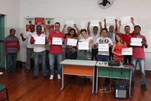 Sindicalistas da região concluem curso de formação da CUT em Pinda