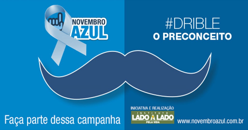 Campanha Novembro Azul.Insituto Lado a Lado pela Vida