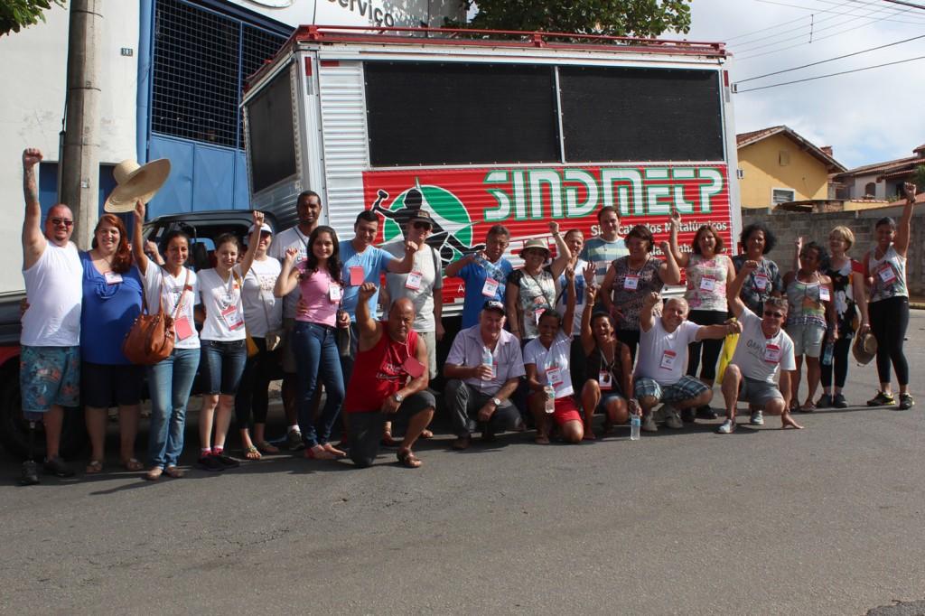 Equipe percorreu os bairros Bela Vista, Vila Verde e Campo Alegre no domingo, dia 7