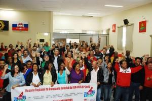 Contribuições das Plenárias Regionais da FEM-CUT/SP atendem a realidade no chão de fábrica