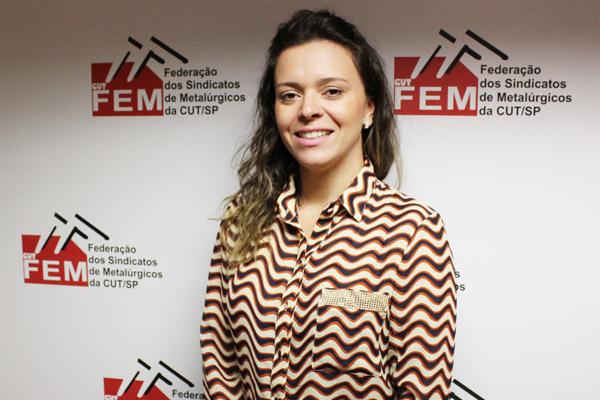 Gláucia Letícia dos Santos, Secretária da Juventude da FEM -foto Nayara Striani-Mídia Consulte