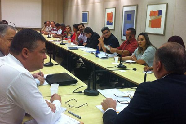 O dirigente sindical Francisco Marçal - Torto também participou