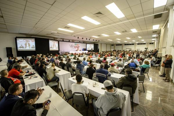 Abertura 14º CECUT -Congresso Estadual da CUT (foto Geraldo Lazzari)