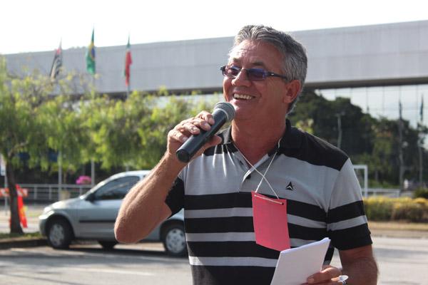 O diretor de Política Social do sindicato, Vicente Caetano - Serrinha