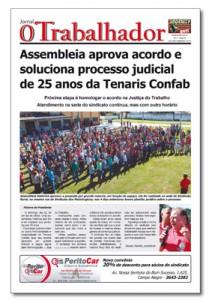 Jornal O Trabalhador.Edição 84.Junho de 2016.indd