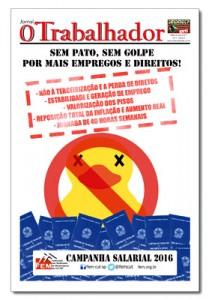 Jornal O Trabalhador.Edição 85.Julho de 2016.indd