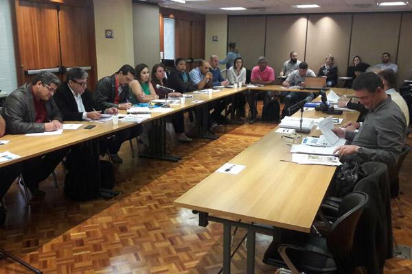 Rodada de negociação com patrões do Grupo 2 (Foto Erika Gonçalves-STIM São Carlos)