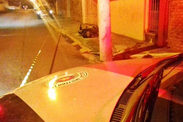 Polícia investiga se Alexandre foi fechado por outro veículo (foto Jornal de Guará)