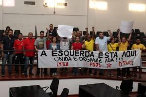 Em dia de protesto, vereadores de Pinda desistem da criação de novos cargos