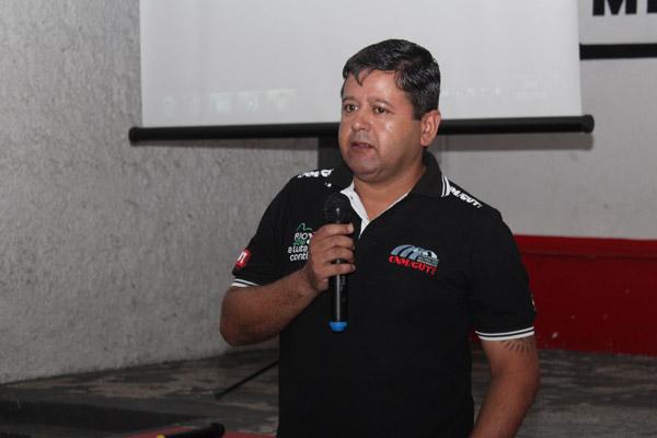 O secretário de Formação, Marcos Prudente