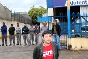 Trabalhadores da Alutent recebem reajuste da Campanha Salarial