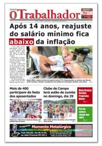 Jornal O Trabalhador.Edição 90.Janeiro de 2017.indd