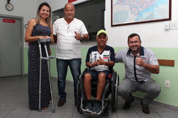 Jéssica Claro, Ronaldo Pit Bull, Serginho e Herivelto Vela; o Sindicato dos Metalúrgicos é um dos apoiadores da campanha