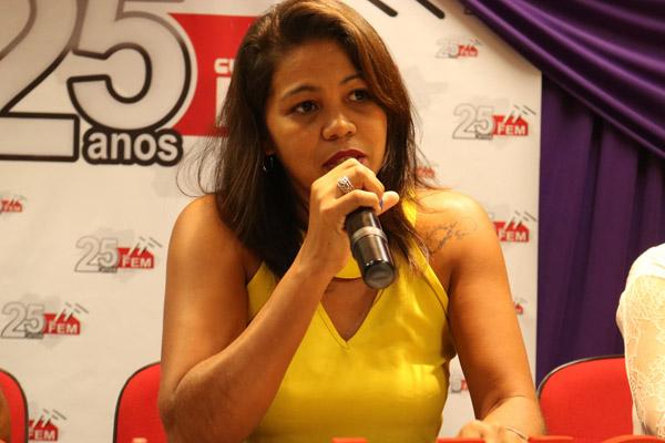 Maria Auxiliadora, diretora do Departamento da Mulher (foto Marina Selerges)