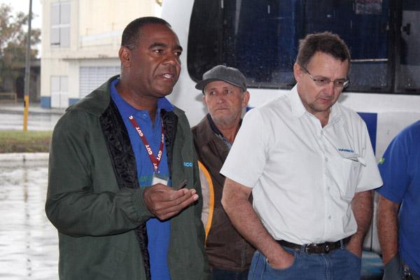 O dirigente sindical Valdir Augusto