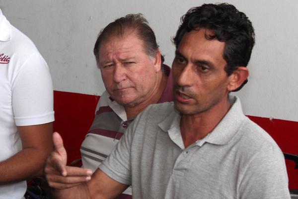 O dirigente sindical Carlos Cabral, o Carlão