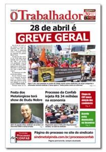 Jornal O Trabalhador.Edição 92.Abril de 2017.indd