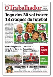 Jornal O Trabalhador.Edição 94.Junho de 2017.indd