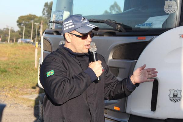 O dirigente sindical da GV, Paceli Alves