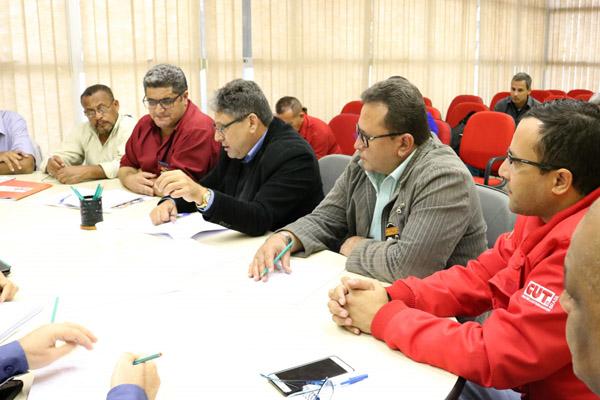 Primeira rodada de negociação com Sicetel, sindicato que representa empresas como Gerdau, GV do Brasil e Novametal (foto Marina Selerges)