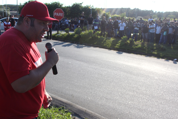 O vice-presidente do sindicato André Oliveira - Andrezão