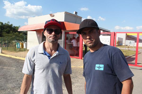 Itamar Ribeiro e Jezmiel Correira também saíram da empresa este mês. Ambos têm seis anos de fábrica e não sabem se vão receber as rescisões