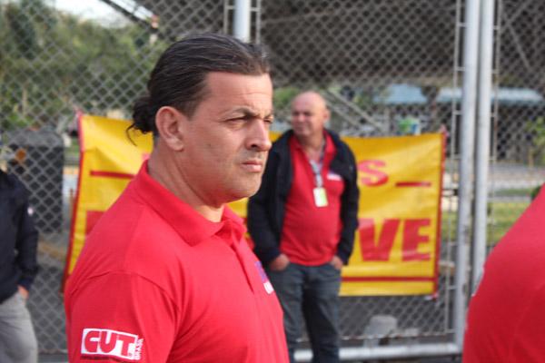 O dirigente sindical Novelis, Celso Antunes