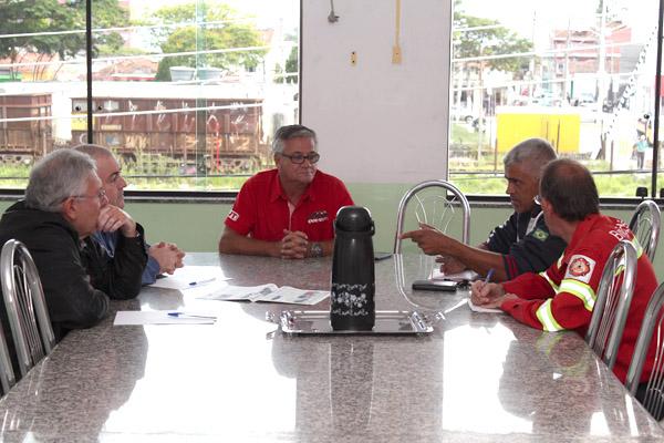Reunião na sede do sindicato, no começo de novembro
