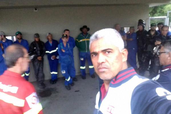 O dirigente sindical Célio da Silva - Celinho