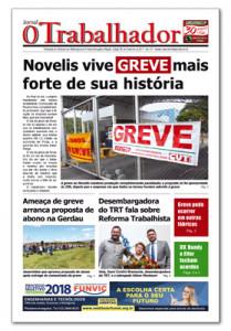 Jornal O Trabalhador.Edição 98.Novembro de 2017.indd