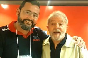 Lula agradece homenagem de Herivelto Vela, que deu ao filho nome de Luiz Inácio