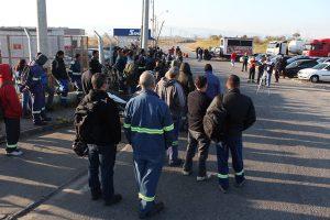 Paralisação na GV protesta por acidente na aciaria