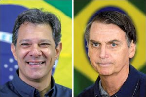 Haddad x Bolsonaro: Qual projeto você quer para o país?